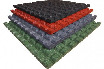 2 Rubberen-tegels